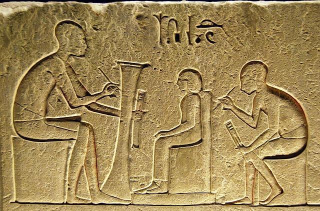 Egyptiläisiä kirjureita