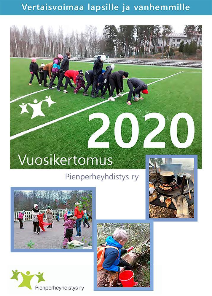 Katso Pienperheyhdistyksen vuosikertomuksesta, mitä toimintaa järjestettiin vuonna 2020.