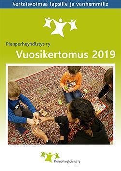 Vuoden 2019 vuosikertomuksen etusivu.