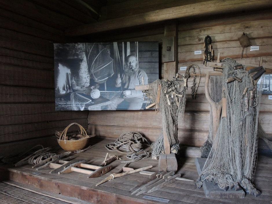 Kalastusnäyttely on uusittu yhteistyössä Lapin maakuntamuseon kanssa.