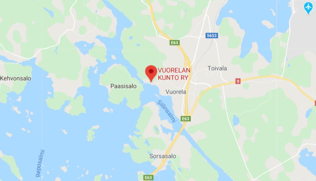 VuoKu:n osoite on Simpan uimaranta 1, 71910 Vuorela.