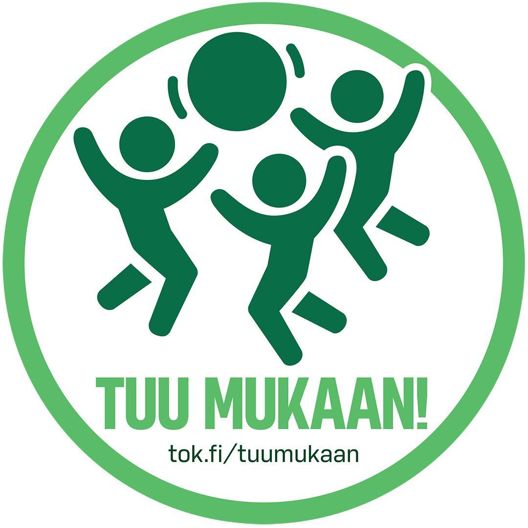TOK Tuu mukaan -logo
