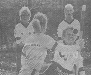ViU oli taidoiltaan 1984 suomensarjassa ylivoimainen. Satu Miettisen tyylinäyte