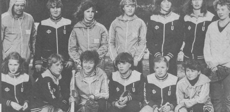 ViU:n jouukue ensimmäisellä SM-sarjakaudella 1982