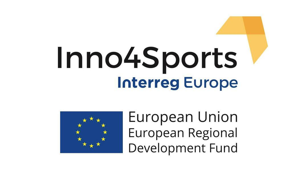 Inno4Sports, Interreg Europe -logo.