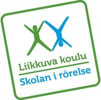 Liikkuva koulu - Skolan i rörelse -logo.