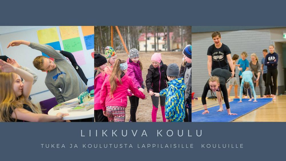 Liikkuva koulu. Tukea ja koulutusta Lappilaisille kouluille.