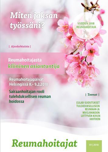 Reumahoitajat 1/2018