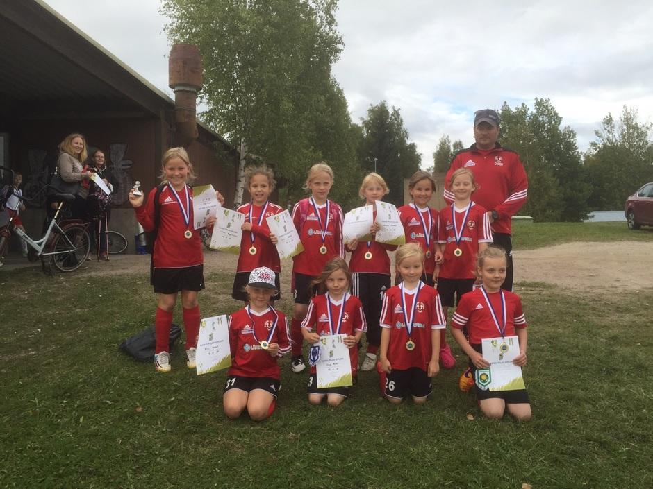 Tyytyväinen joukkue. Riihimäki 2015