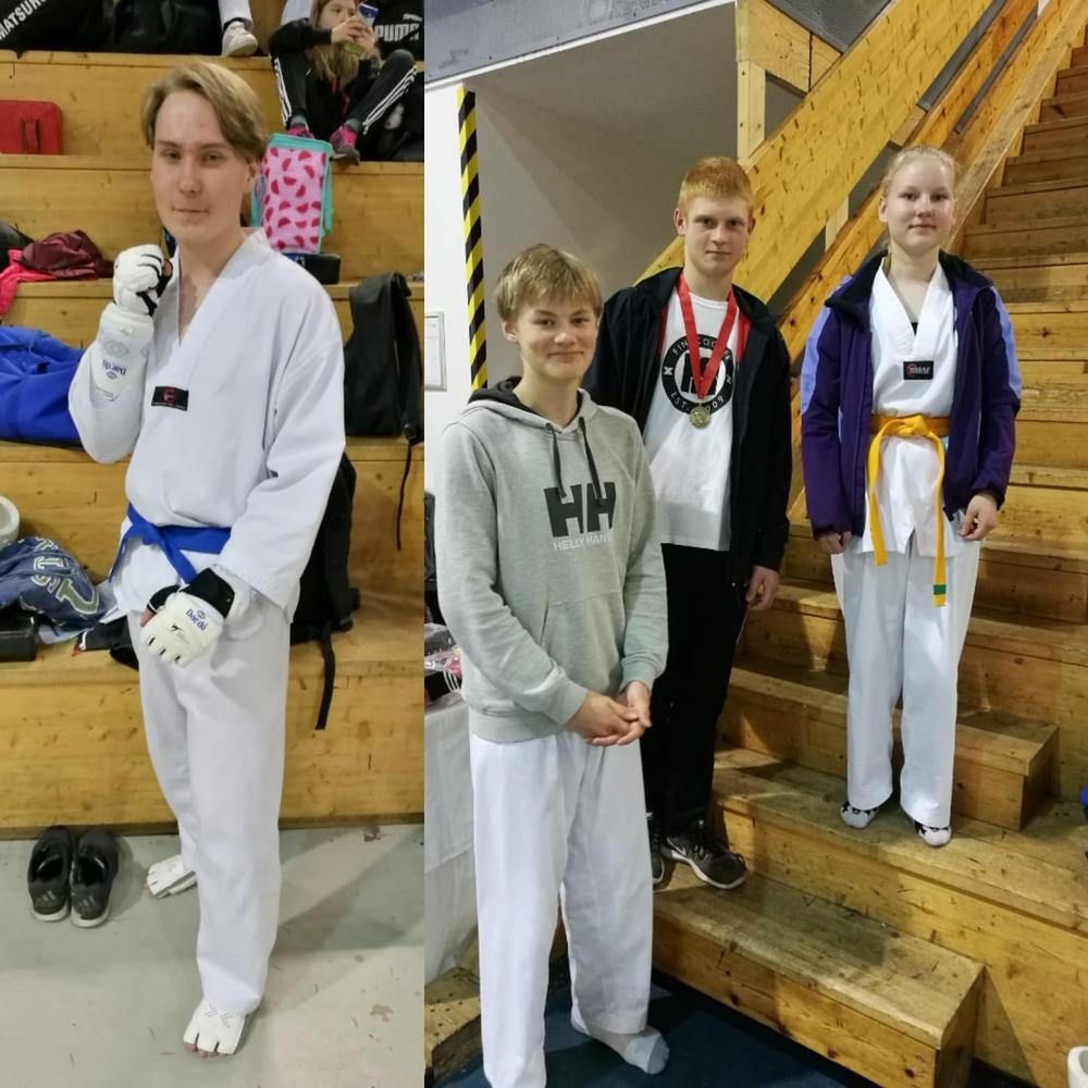 Marlo (vas.), Veikka, Lucas ja Viivi