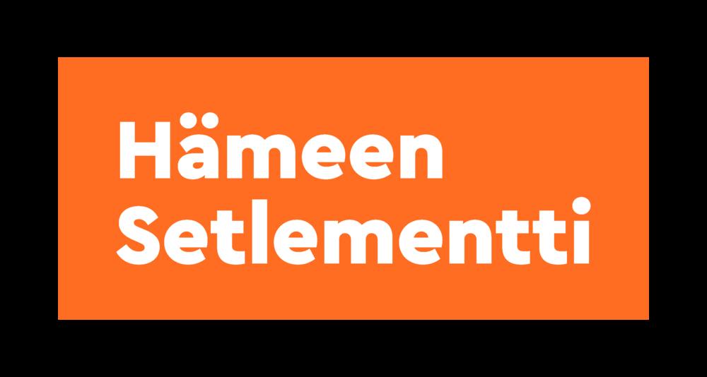 Hämeen Setlementti ry:n logo ja linkki setlementin verkkosivuille.