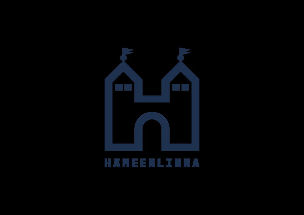 Hämeenlinnan kaupungin logo ja linkki sen verkkosivuille.