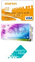 Maksusuoritukset: kortti/käteinen. Lisäksi käyvät Smartum-setelit ja -verkkomaksu, Tyky+ -kuntosetelit ja -online sekä Sporttipassi.