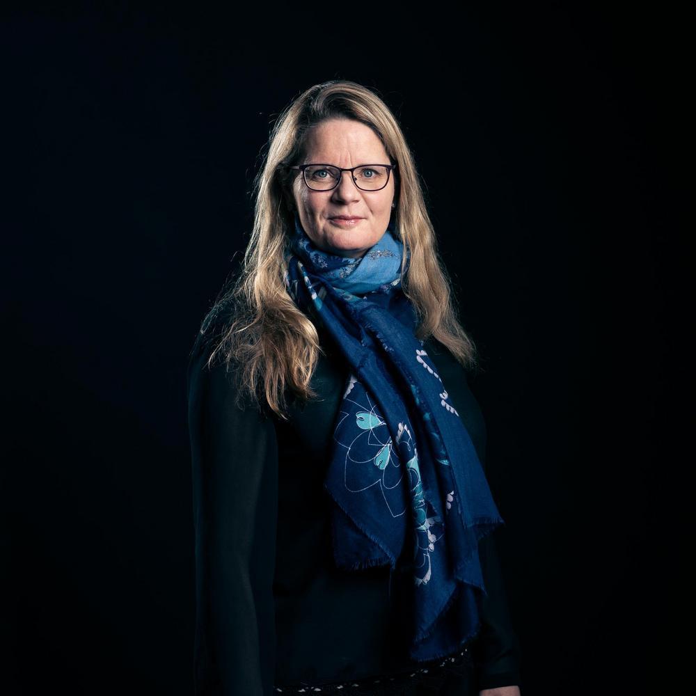 Kuvassa Sari Kivimäki