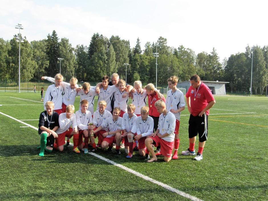 C -pojat 2013 Kontu Cup. Kuva: Pekka Suortti