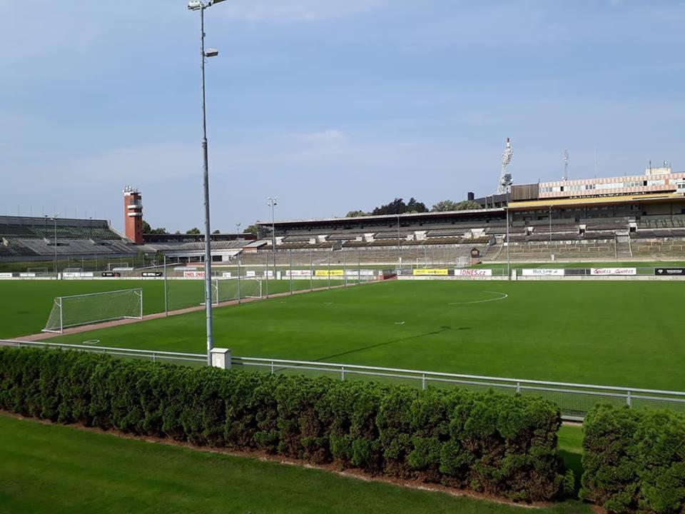 Sparta Prahan harjoituskeskus Strahovin stadionilla