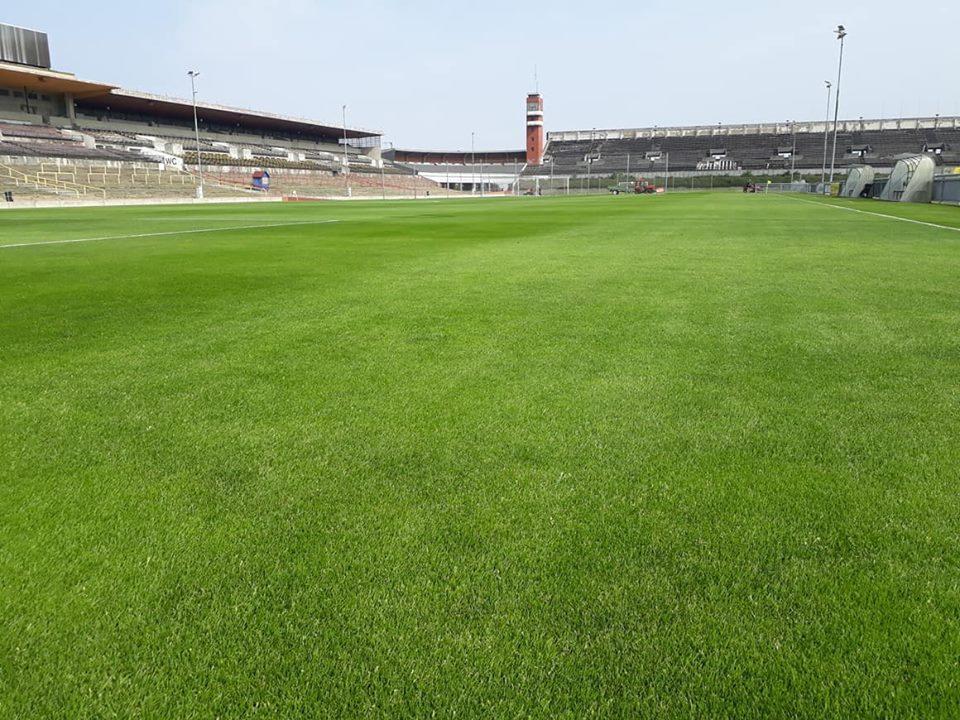 Ottelu Sparta Prahaa vastaan pelattiin yhdellä Spartan harjoituskeskuksen lukuisista samettisista nurmikentistä