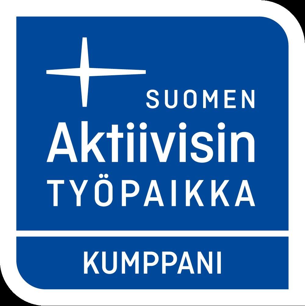 Suomen Aktiivisin Työpaikka -kumppani.