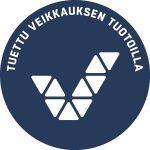 Veikkauksen logo: Tuettu Veikkauksen voitoilla