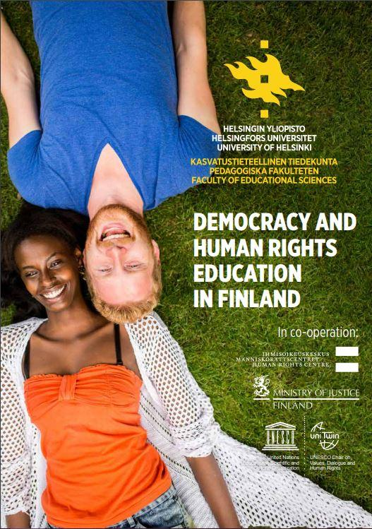 Download Democracy and Human Rights Education in Finland -brochure.