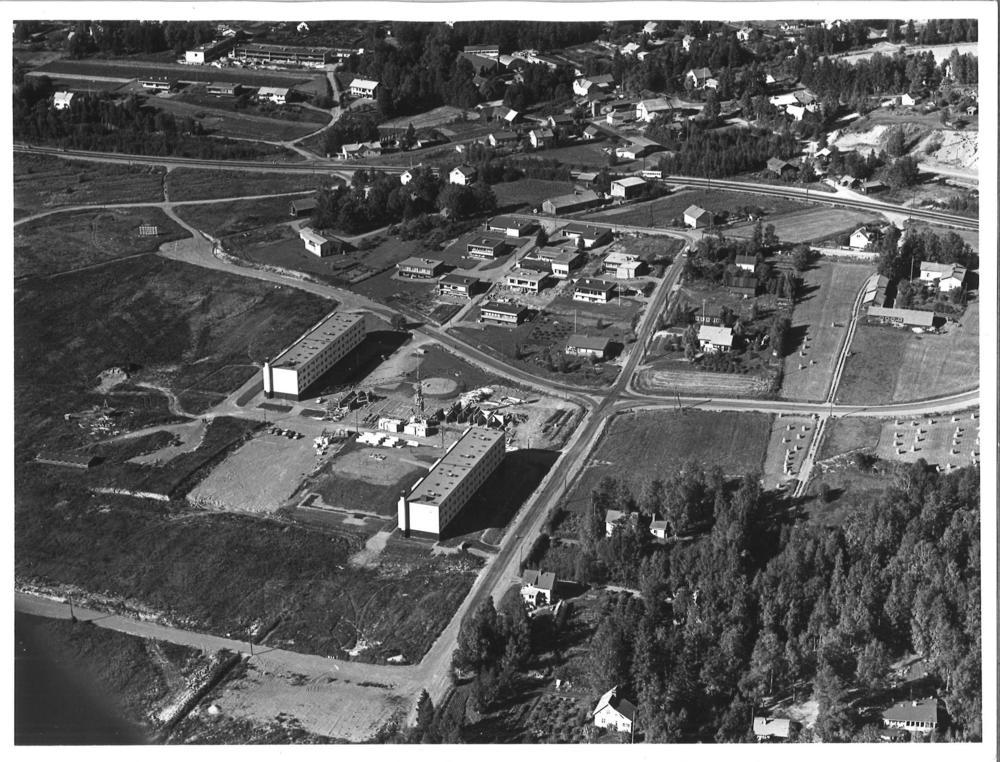 Liutun alueen ensimmäiset kerrostalot valmistuivat 1970.