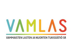 Vammaisten lasten ja nuorten tukisäätiön logo.