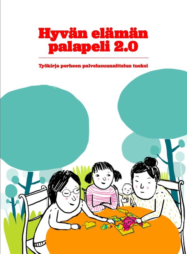 Kuva suomenkielisestä Hyvän elämän palapeli 2.0:sta