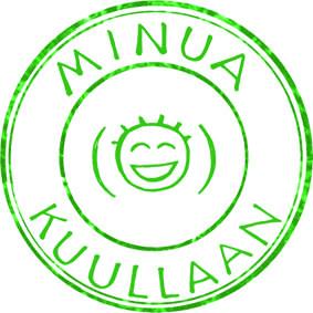 Kuvassa Minua kuullaan -hankkeen logo.