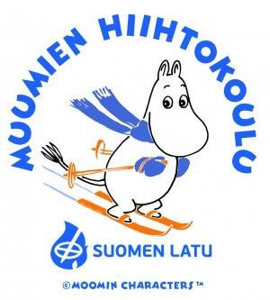 Espoon Latu, Muumien hiihtokoulu, logo Suomen Latu