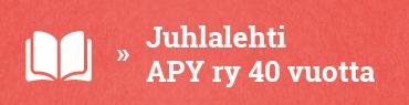 Juhlalehti - APY ry 40 vuotta.