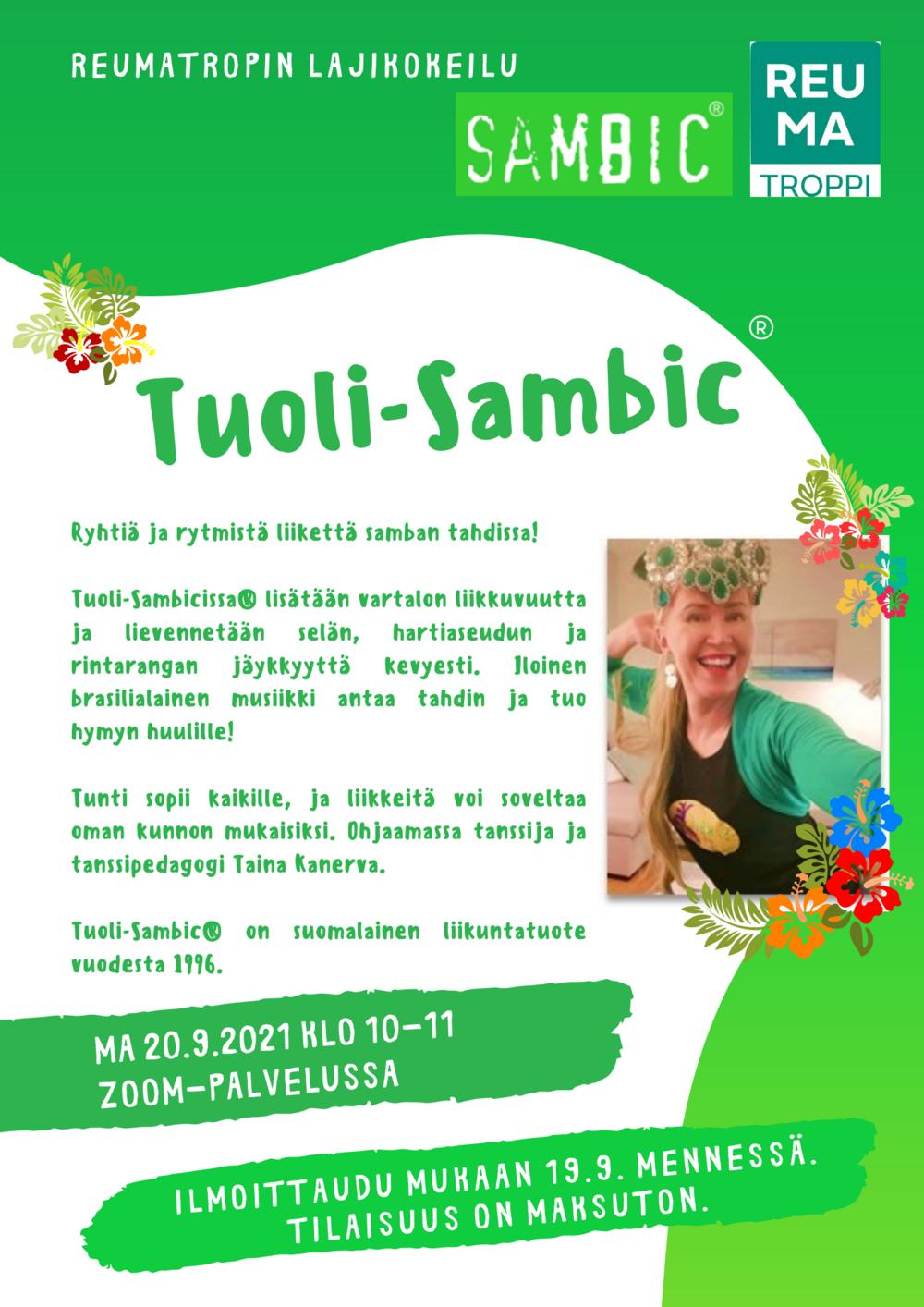 Tuoli-Sambic -mainos