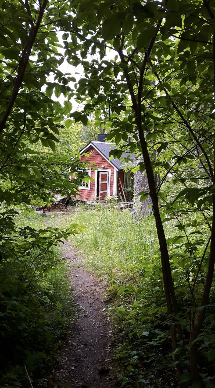 Huvilan sauna. Kuva: Virve Mertanen
