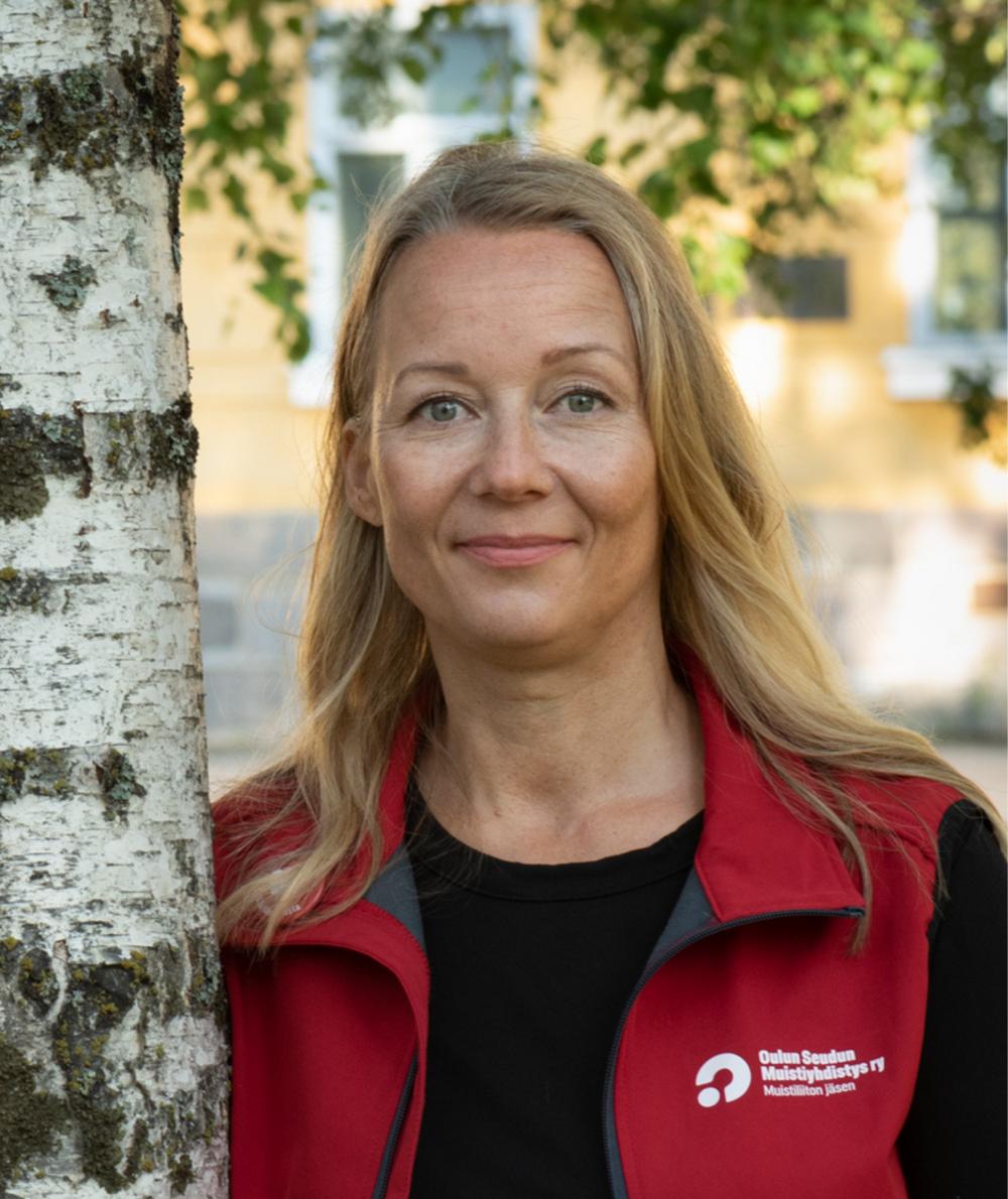 Riikka Heikkinen.
