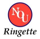 [Kuva: NoU Ringette -logo]